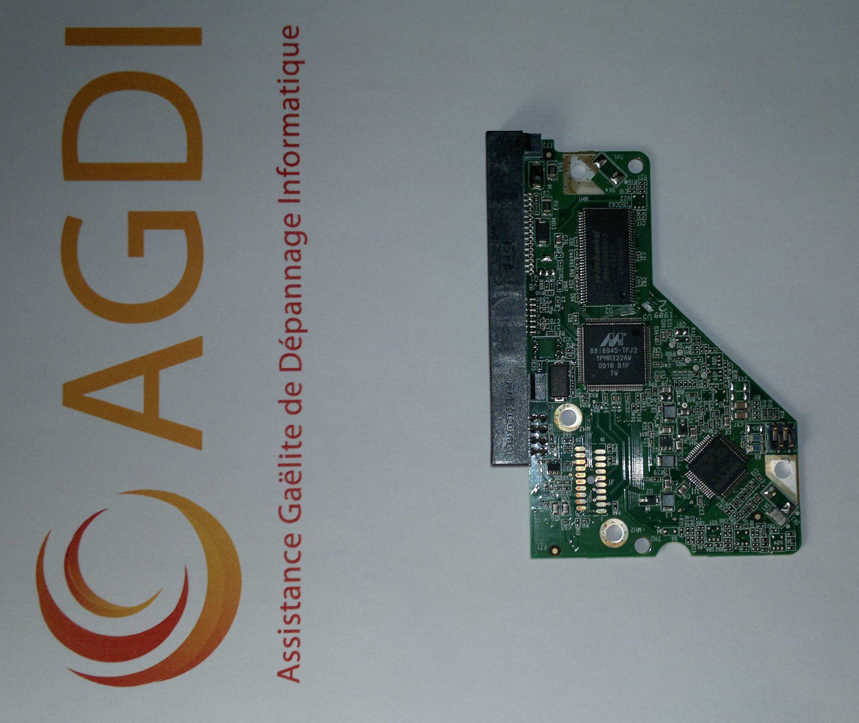 Carte electronique disque dur western digital goulotte for Disque dur exterieur