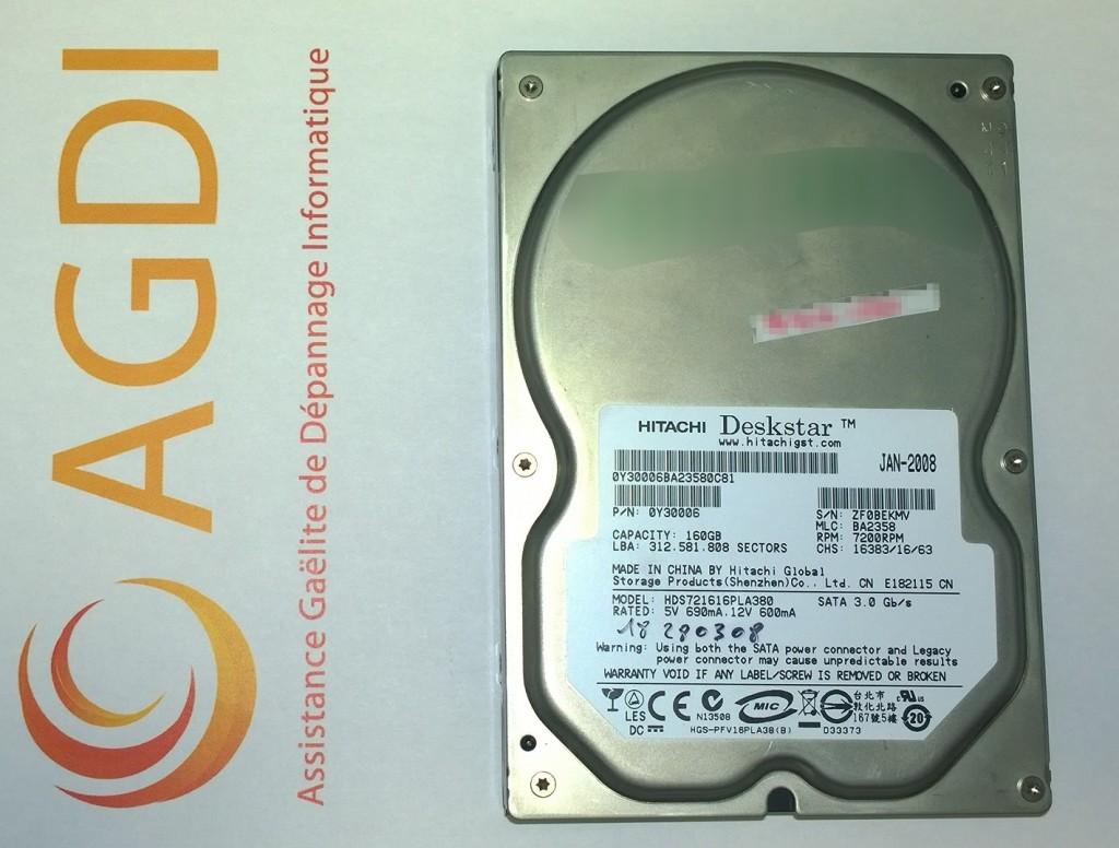 HDS721616PLA380