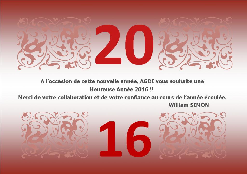 CARTE DE VOEUX AGDI 2016